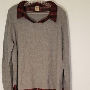 Faded Glory sweater blouse